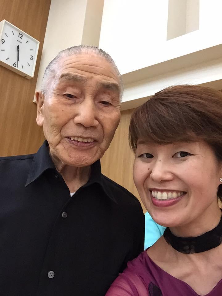 想い出2019年9月29日北海道共和町社交ダンスパーティー❤︎FBしている菊地政男会長